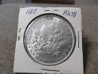 1880 MORGAN SILVER DOLLAR AU   UNC??