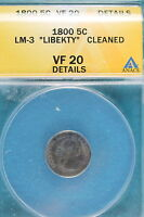 1800 ANACS VF20 DETAILS