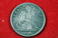 ESTATE FIND 1840 SMALL LETTERS SEATED LIBERTY HALF DOLLAR C0441