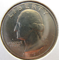 1977 PDS WASHINGTON QUARTERS BU AND PROOF