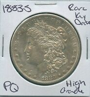 1883 S MORGAN DOLLAR  KEY DATE US MINT SILVER COIN PQ HIGH GRADE