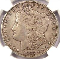 1893-O MORGAN SILVER DOLLAR $1 - NGC VF35 -  KEY DATE - CERTIFIED COIN