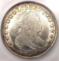 1807 DRAPED BUST HALF DOLLAR 50C - CERTIFIED ICG EXTRA FINE 40 EF40 - $1,770 VALUE