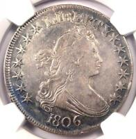 1806 DRAPED BUST HALF DOLLAR 50C COIN O-120A R4 - NGC EXTRA FINE  DETAIL -  VARIETY