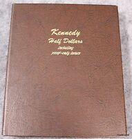 1964 2012 KENNEDY HALF DOLLAR 160 COIN DANSCO ALBUM INCLUDING PROOF ONLY ISSUES