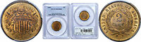 1865 TWO CENT PIECE PCGS MS 64 RB