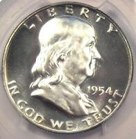1954 PROOF FRANKLIN HALF DOLLAR 50C   PCGS PR68 CAMEO PF68   $2,050 VALUE