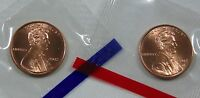 2002 P & D LINCOLN CENT IN MINT CELLO 2 COINS
