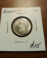 1999 JEFFERSON NICKEL  BROADSTRIKE ERROR DON'T MISS OUT BID NOW