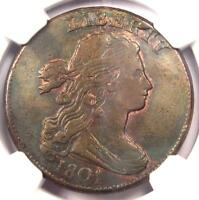 1801 DRAPED BUST LARGE CENT 1C 1/000 VARIETY   NGC XF DETAILS EF    COIN