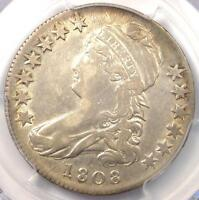 1808 CAPPED BUST HALF DOLLAR 50C   CERTIFIED PCGS XF40 EF40 PQ    COIN