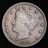 1911 LIBERTY V NICKEL CHOICE BU SHIPS FREE E240 BM