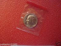 1980 D  ROOSEVELT DIME UNCIRCULATED IN MINT CELLO  NICE   6188