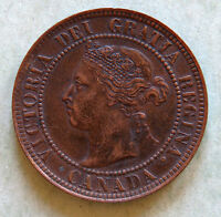 1897 CANADA LARGE CENT  NICER GRADE QUEEN VICTORIA COIN