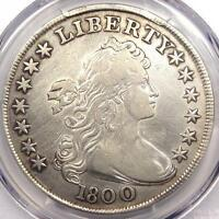 1800 DRAPED BUST SILVER DOLLAR $1