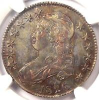 1826 CAPPED BUST HALF DOLLAR 50C   NGC AU DETAILS    CERTIFIED COIN