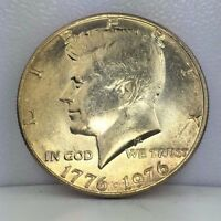 1976 50C KENNEDY HALF DOLLAR   UNCIRCULATED OR BETTER PHILADELPHIA MINT JFK COIN