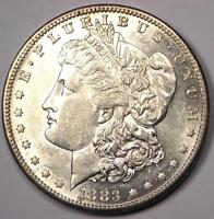 1883 S MORGAN SILVER DOLLAR $1   EXCELLENT CONDITION   NICE LUSTER & FEATHERS