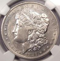1883 S MORGAN SILVER DOLLAR $1   NGC AU50    DATE   NICE LUSTER