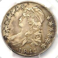1811 CAPPED BUST HALF DOLLAR 50C SMALL 8   PCGS XF40 PQ EF40    COIN