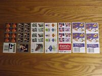 MIXED LOT OF US POSTAGE STAMP MINT UNUSED HOLIDAY BOOKLETS FOREVER FV $68.60 MNH