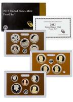 2012 US 14 COIN CLAD PROOF SET WITH ORIGINAL MINT BOX PACKAGING AND COA