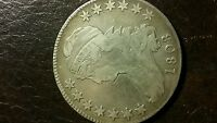 1808 CAPPED BUST 50C HALF  DOLLAR 90 SILVER COIN