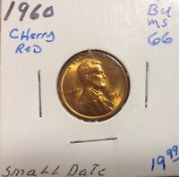 1960 1C SMALL DATE RD LINCOLN CENT