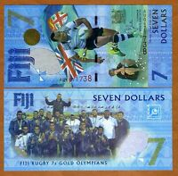 FIJI $7 2017 P NEW UNC > COMMEMORATIVE THE ONLY $7 LEGAL TENDER WORLDWIDE