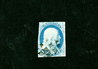 US STAMPS  8 AVG USED  COLOR TYPE III FEW SLIGHT FAULTS SCOTT VALUE $2,000.