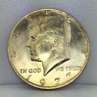 1977 50C KENNEDY HALF DOLLAR   UNCIRCULATED OR BETTER PHILADELPHIA MINT JFK COIN