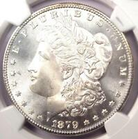 1879-S MORGAN SILVER DOLLAR $1 - NGC MINT STATE 67 CAC PQ PLUS GRADE - $2,135 VALUE