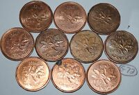 CANADA 1990 1991 1992 1993 1994 1995 1996 1997 1998 1999 1 CENT LOT G72