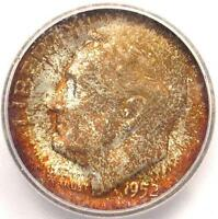 1952 S ROOSEVELT DIME 10C   ICG MS67 FB    IN MS67 FULL BANDS   $231 VALUE