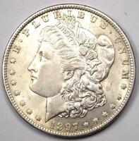 1897 O MORGAN SILVER DOLLAR $1   EXCELLENT CONDITION   NICE LUSTER    DATE