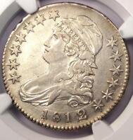 1812/1 CAPPED BUST HALF DOLLAR 50C   NGC XF DETAILS      LOOKS AU