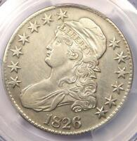 1826 CAPPED BUST HALF DOLLAR 50C   PCGS AU DETAILS    CERTIFIED COIN