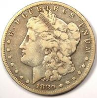 1880 CC MORGAN SILVER DOLLAR $1   FINE DETAILS    CARSON CITY COIN
