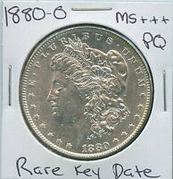 1880 O MORGAN DOLLAR  KEY DATE US MINT PQ SILVER COIN UNC MS