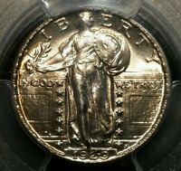 1929 25C PCGS MS63FH STANDING LIBERTY QUARTER FULL HEAD MS 63 25 CENTS NICE TYPE