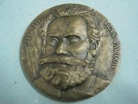 NOBEL PRIZE FOR MEDICINE IN 1904 IWAN PAWLOW 1849/1936 BRONZE MEDAL