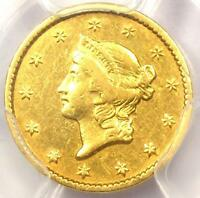 1851 C LIBERTY GOLD DOLLAR G$1   PCGS VF DETAILS     CHARLOTTE COIN
