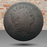HALF CENT/PENNY 1795 COHEN-4, RARITY-3, CLEAR DATE