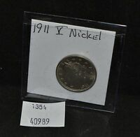 WEST POINT COINS  1911 V NICKEL UNC