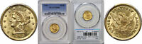 1903 $2.50 GOLD COIN PCGS MS 66