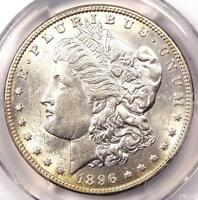 1896 O MORGAN SILVER DOLLAR $1   PCGS UNCIRCULATED DETAIL    DATE IN UNC/MS