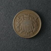 1866 TWO 2 CENT PIECE GREAT DEALS FROM THE TECC BARGAIN BIN