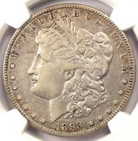 1893-O MORGAN SILVER DOLLAR $1 - NGC VF35 PQ -  KEY DATE - CERTIFIED COIN
