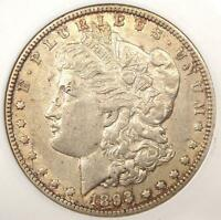 1893-O MORGAN SILVER DOLLAR $1 - ANACS AU50 -  CERTIFIED KEY DATE COIN