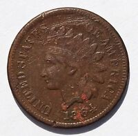 1864 L INDIAN CENT XF DETAILS